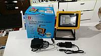 Переносной светодиодный ручной фонарь - прожектор Bailong BL-204 3 режима 30W