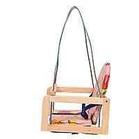 Качель подвесная детская деревянная Bambi V 701-1