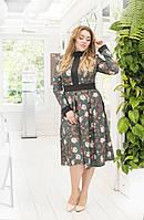 Платье с принтом в расцветках 41283, фото 1