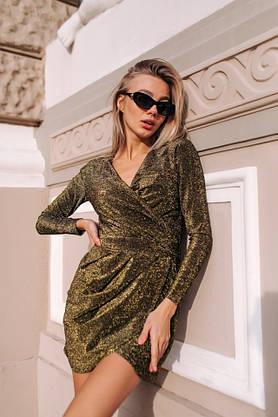 """Платье нарядное с люрексом """" Блестка"""", фото 3"""