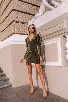 """Платье нарядное с люрексом """" Блестка"""", фото 2"""
