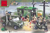"""Конструктор Brick 809 Зона бойових дій """"Розвідгрупа"""", фото 1"""
