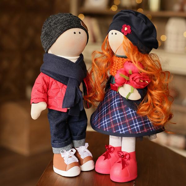 Куклы текстильные 2 шт English Tea
