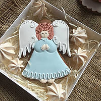 "Подарочный пряник ""Ангел"", корока 15х15 см, фото 1"