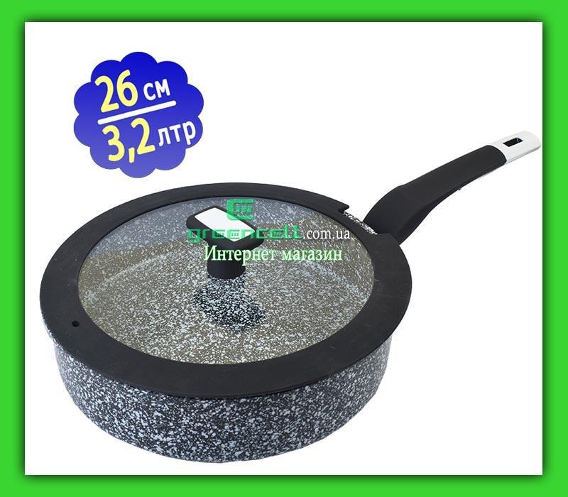 Сковорода EDENBERG EB 3324 26 см 3.2 L WOK