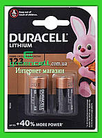 Батарейка Duracell CR123 / CR123A / CR17345 3V