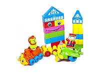 Набор конструктора для малышей Kinderway 02-304, 114 деталей