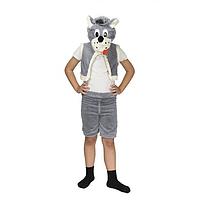 Карнавальный костюм Серый волк ( р-р 3 - 7 лет унив. )