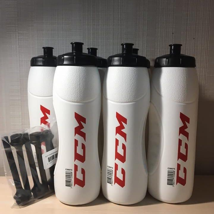 Бутылка CCM Water Bottle 1.0L White
