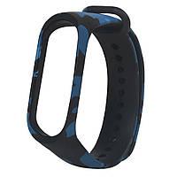 "Ремешок ""Camouflage Blue"" для фитнес-браслета Xiaomi Band M3"