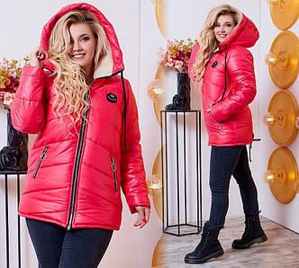 Куртка женская 186пл батал лыжная
