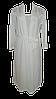 Белый комплект c кружевом халат и ночная рубашка, р. 44-46. Ahu Lingerie, Турция, фото 5