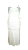 Белый комплект c кружевом халат и ночная рубашка, р. 44-46. Ahu Lingerie, Турция, фото 7