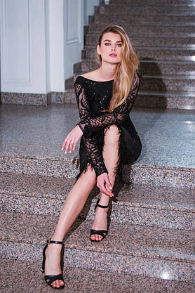 """Платье вечернее с глубоким вырезом на спине """"Aurora"""", фото 2"""