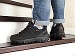 Мужские зимние кроссовки Merrell (черно-синие), фото 4