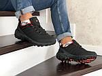 Мужские зимние кроссовки Merrell (черно-оранжевые), фото 4