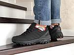 Мужские зимние кроссовки Merrell (черно-оранжевые), фото 5