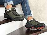 Мужские зимние кроссовки Merrell (темно-зеленые), фото 5