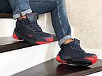 Мужские зимние ботинки Nike Zoom 2K (сине-красные), фото 4