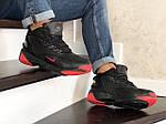 Мужские зимние ботинки Nike Zoom 2K (черно-красные), фото 4