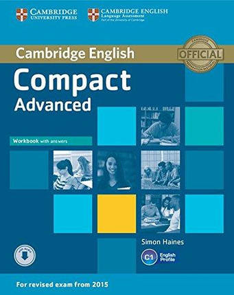 Compact Advanced Workbook with answers and Downloadable Audio, фото 2