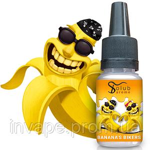 Ароматизатор SolubArome Banana's bikers (Банановые байкеры) 5мл