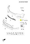 Рамка левой птф хром чери Тигго 2, Chery Tiggo 2, j69-2803523, фото 4