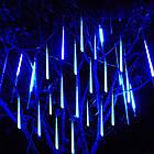 """[ОПТ] Уличная светодиодная новогодняя гирлянда """"Снегопад"""", 8 метеоров по 50 см, 2м, двухсторонняя, 3 цвета, фото 7"""