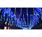 """[ОПТ] Уличная светодиодная новогодняя гирлянда """"Снегопад"""", 8 метеоров по 50 см, 2м, двухсторонняя, 3 цвета, фото 8"""