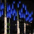 """[ОПТ] Уличная светодиодная новогодняя гирлянда """"Снегопад"""", 8 метеоров по 50 см, 2м, двухсторонняя, 3 цвета, фото 9"""