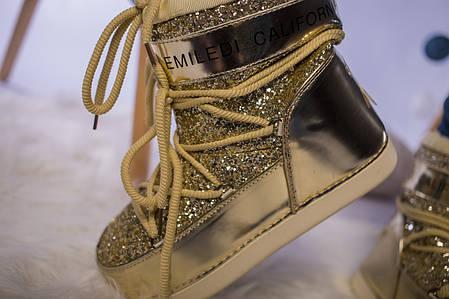 Женские Moon Boot луноходы IT TS Gold, фото 2