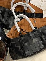 Кожаная сумка BOTTEGA VENETA Cabat  (реплика), фото 1