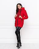 """Женская зимняя куртка с опушкой плащевка """"канада"""" наполнитель холлофайбер 250 размер:42-44,46-48, фото 3"""