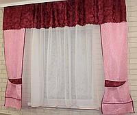 Кухонный комплект, шторы и тюль
