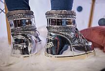 Женские Moon Boot луноходы IT TS Silver, фото 2