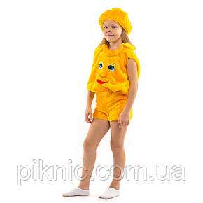 Детский карнавальный костюм Колобок для мальчиков и девочек 3,4,5,6 лет, фото 2