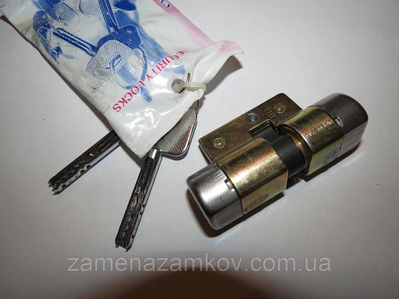 Mexin AFS 90 мм (45*45) цилиндр 6+2 ключей для дверей Киев Винница Одесса Тернополь Львов Ужгород