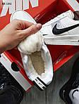 Мужские кроссовки Nike Air Force 1 07 Mid LV8 Low (белые) ЗИМА, фото 3