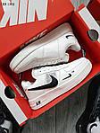 Мужские кроссовки Nike Air Force 1 07 Mid LV8 Low (белые) ЗИМА, фото 4