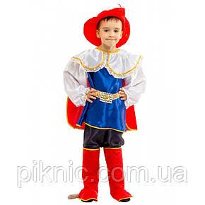 Костюм Кот в Сапогах 6-9 лет Детский новогодний карнавальный костюм для мальчиков 344, фото 2