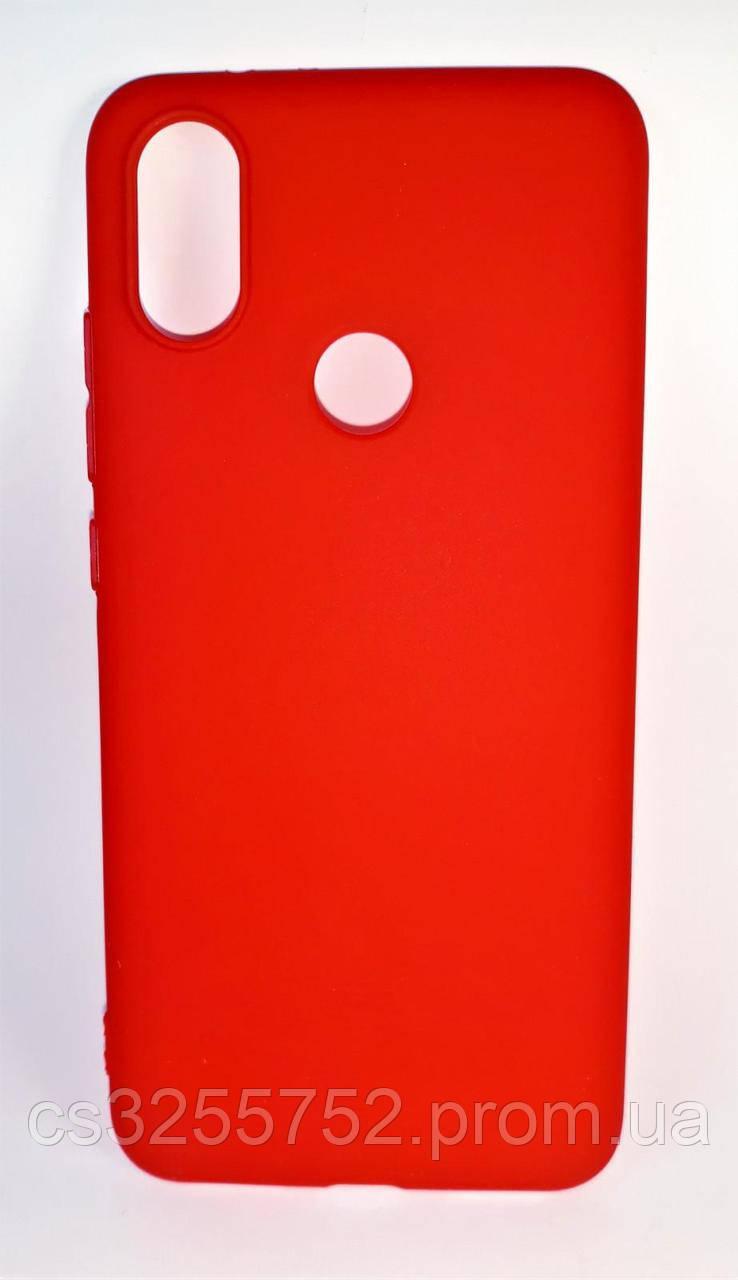 Силикон SMTT для Xiaomi MI 6X MI A2 красный