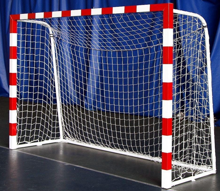 Сетка для мини-футбола D-4,5 мм, яч.10 см (футзальная, гандбольная) 2*3*0.6