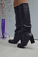 Женские кожаные сапоги Venison
