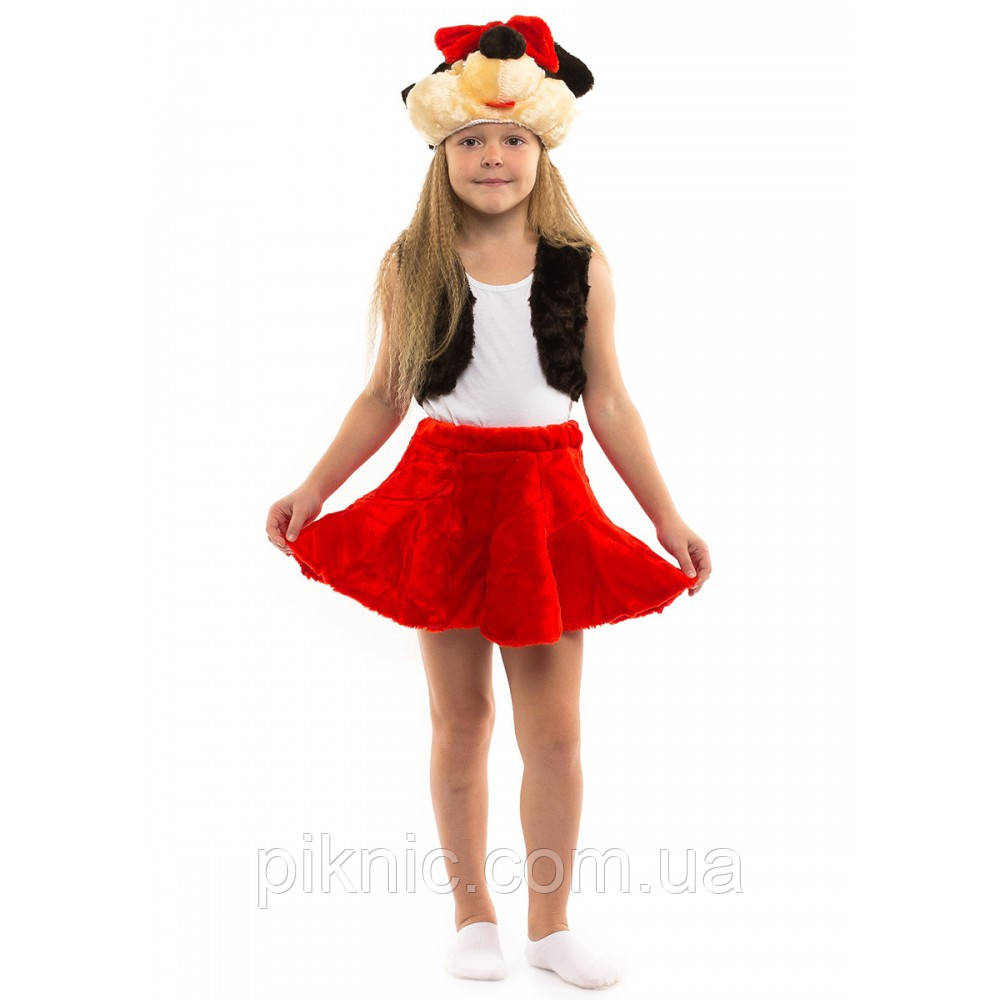 Детский костюм Минни Маус 3-6 лет. Новогодний карнавальный костюм для девочек