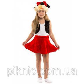 Детский костюм Минни Маус 3-6 лет. Новогодний карнавальный костюм для девочек, фото 2