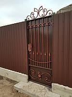 Кованая калитка для загородного дома АРТ КК 12, фото 1