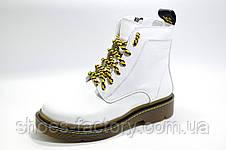 Зимние женские ботинки OFF-WHITE в натуральной коже, фото 2