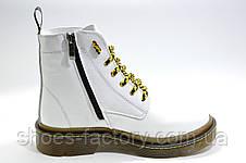 Зимние женские ботинки OFF-WHITE в натуральной коже, фото 3