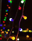 """[ОПТ] Скляна новорічна світлодіодна гірлянда """"Кульки"""", внутрішня, 40LED, 6.5 м, RGB, фото 2"""