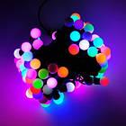 """[ОПТ] Скляна новорічна світлодіодна гірлянда """"Кульки"""", внутрішня, 40LED, 6.5 м, RGB, фото 7"""